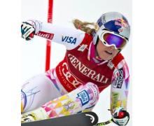 Will Lindsey Vonn race against men in Lake Louise?